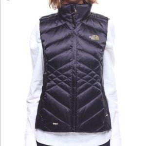 {THE NORTH FACE} NWOT Aconcagua black down vest S